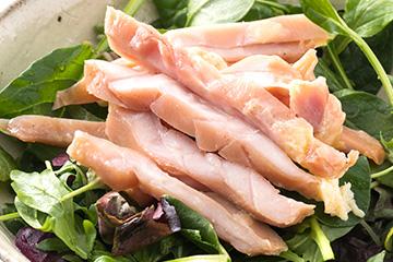 薫製 サラダの鶏
